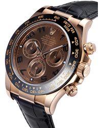Rolex Наручные Часы Daytona 40 Мм Pre-owned - Черный