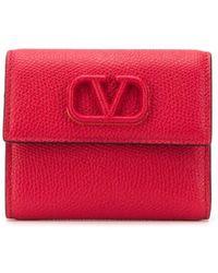 Valentino - Garavani Vロゴ 財布 - Lyst