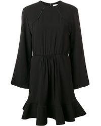 Chloé フレアドレス - ブラック