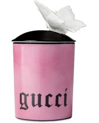 Gucci Inventum, Medium Butterfly Candle - Pink