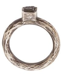 Henson - Antique-effect Ring - Lyst