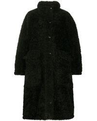 DIESEL リバーシブル コート - ブラック