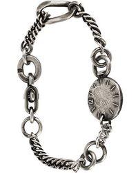 Werkstatt:münchen - Chain-link Bracelet - Lyst