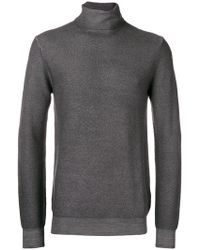 Paolo Pecora - Roll-neck Fitted Jumper - Lyst