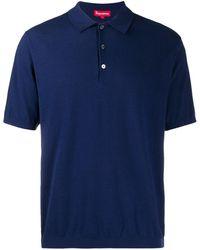 Supreme Short Sleeved Polo Shirt - Blue