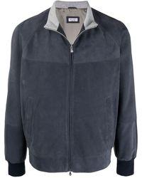 Brunello Cucinelli Куртка На Молнии - Синий