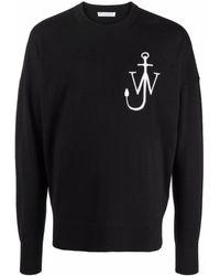 JW Anderson ロゴ セーター - ブラック