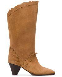 Isabel Marant - Leesta Suede Boots - Lyst