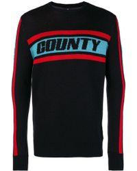 Marcelo Burlon Colour Band Sweater - Zwart