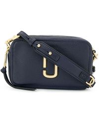 Marc Jacobs Softshot Crossbody Tas - Zwart