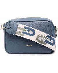 Furla Real カメラバッグ - ブルー