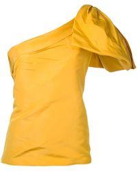Bambah Топ С Бантом - Желтый
