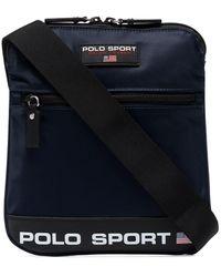 Polo Ralph Lauren ロゴ ショルダーバッグ - ブルー