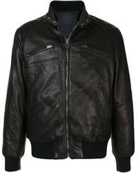 Ferragamo Куртка На Молнии - Черный