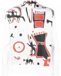 Homme Plissé Issey Miyake - Printed Shirt - Lyst