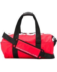 DIESEL Reisetasche mit Logo - Rot