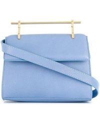 M2malletier Petit sac à bandoulière Muse - Bleu