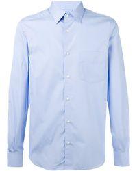 Aspesi 胸ポケット付きシャツ - ブルー