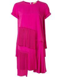 N°21 - プリーツパネル ドレス - Lyst