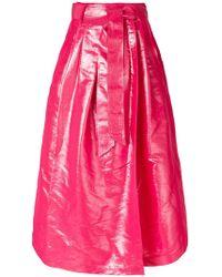 Dusan - Pleated Long Skirt - Lyst