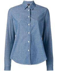Aspesi - Long-sleeved Shirt - Lyst