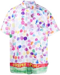 PUMA X Kidsuper プリント シャツ - マルチカラー