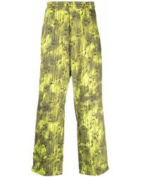 Paria Farzaneh Pantaloni con zip - Verde