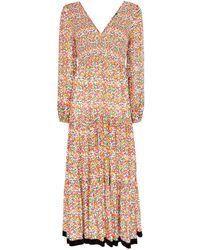 RIXO London Brooke Floral-print Woven Maxi Dress - Multicolour