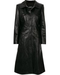 Goen.J - Geiza Vegan Leather Coat - Lyst