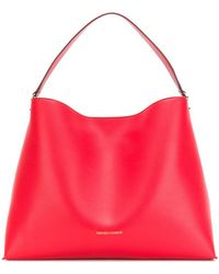 Emporio Armani Oversized Hobo Bag - Red