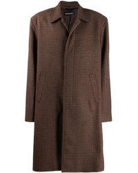 Balenciaga - Square Shoulder Carcoat - Lyst