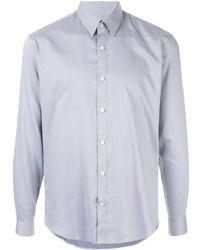Cerruti 1881 Classic Ls Shirt - Blue