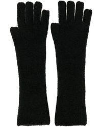 Isabel Benenato Tipless Gloves - Black