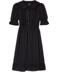 Marc Jacobs Платье Миди The Kat - Черный