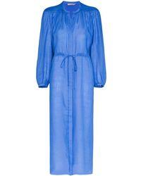 Three Graces London Julienne ドレス - ブルー