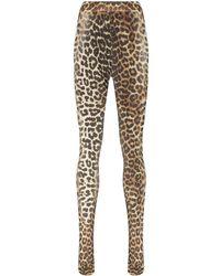 Ganni Panty Met Luipaardprint - Zwart