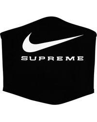 Supreme X Nike ネックウォーマー - ブラック