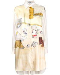 Lanvin Babar ドレス - ナチュラル