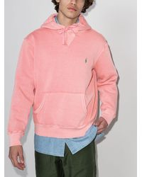 Polo Ralph Lauren - Logo-embroidered Hoodie - Lyst