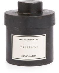 Mad Et Len Papelato Scented Candle (300g) - Black