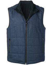 Corneliani - Zipped Gilet Jacket - Lyst