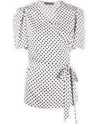 ALEXACHUNG Блузка That's A Wrap - Многоцветный