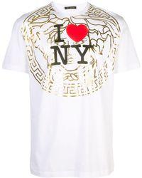 Versace I Love Ny Tシャツ - ホワイト