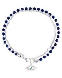 Astley Clarke 'evil Eye Biography' Bracelet - Blauw