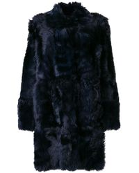 Meteo by Yves Salomon - Reversible Coat - Lyst