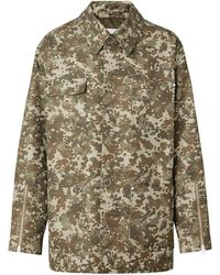 Burberry - Gabardine Met Camouflageprint - Lyst