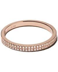 EF Collection ダイヤモンド リング 14kローズゴールド - メタリック