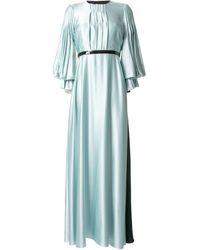 ROKSANDA Vestido de fiesta Athella - Azul