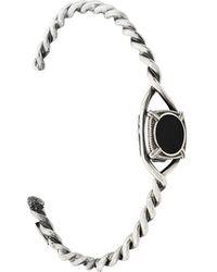 Emanuele Bicocchi   Round Stone Embellished Bracelet   Lyst