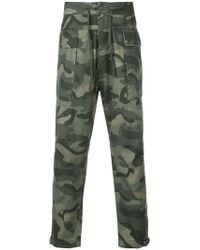 Osklen - Camouflage Print Trousers - Lyst